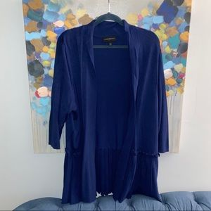 Lane Bryant Navy Blue Cardigan
